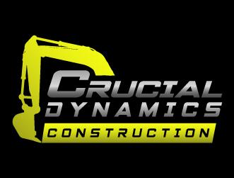 Construction logo crucial dynamic