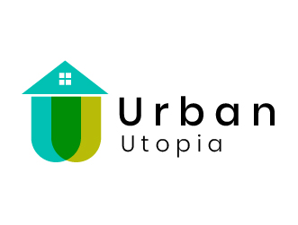 Construction logo urban utopia