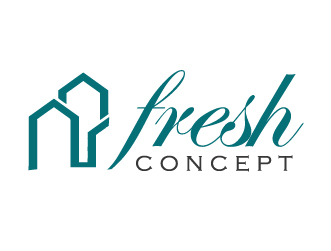 Construction logo fresh concept