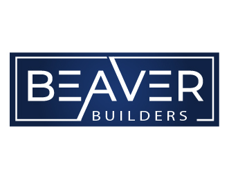 Construction logo beaver builders