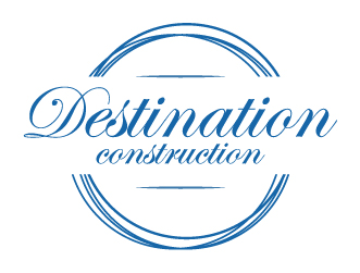 Construction logo destionation