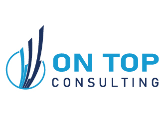 Consulting logo on top