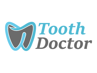 Dental logo tooth doctor