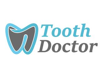 Dental logo tooth doctor
