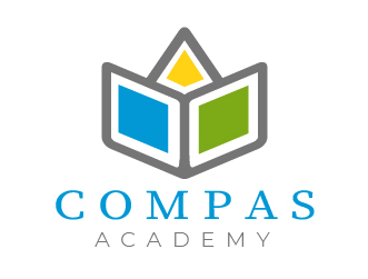 Education logo compas